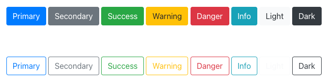 React Bootstrap Buttons