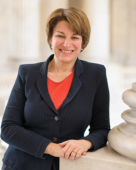 A photo of Amy Klobuchar