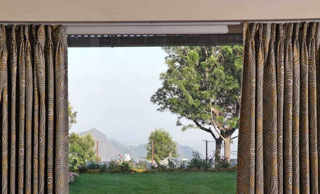View from the living room at Turf Yard, Sua Serenitea