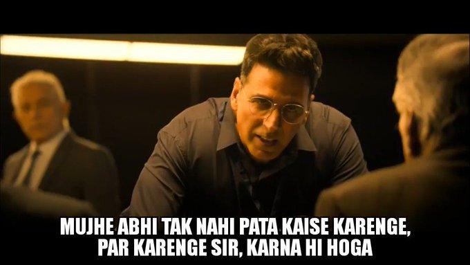 Akshay Kumar in Mission Mangal Trailer Mujhe ahbi tak nahi pata kaise karenge par karenge sir, karna hi hoga