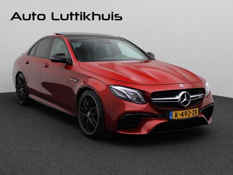 Mercedes-Benz E-Klasse 63 S AMG 4Matic-plus|kuipstoelen|pano|carbon afbeelding 24