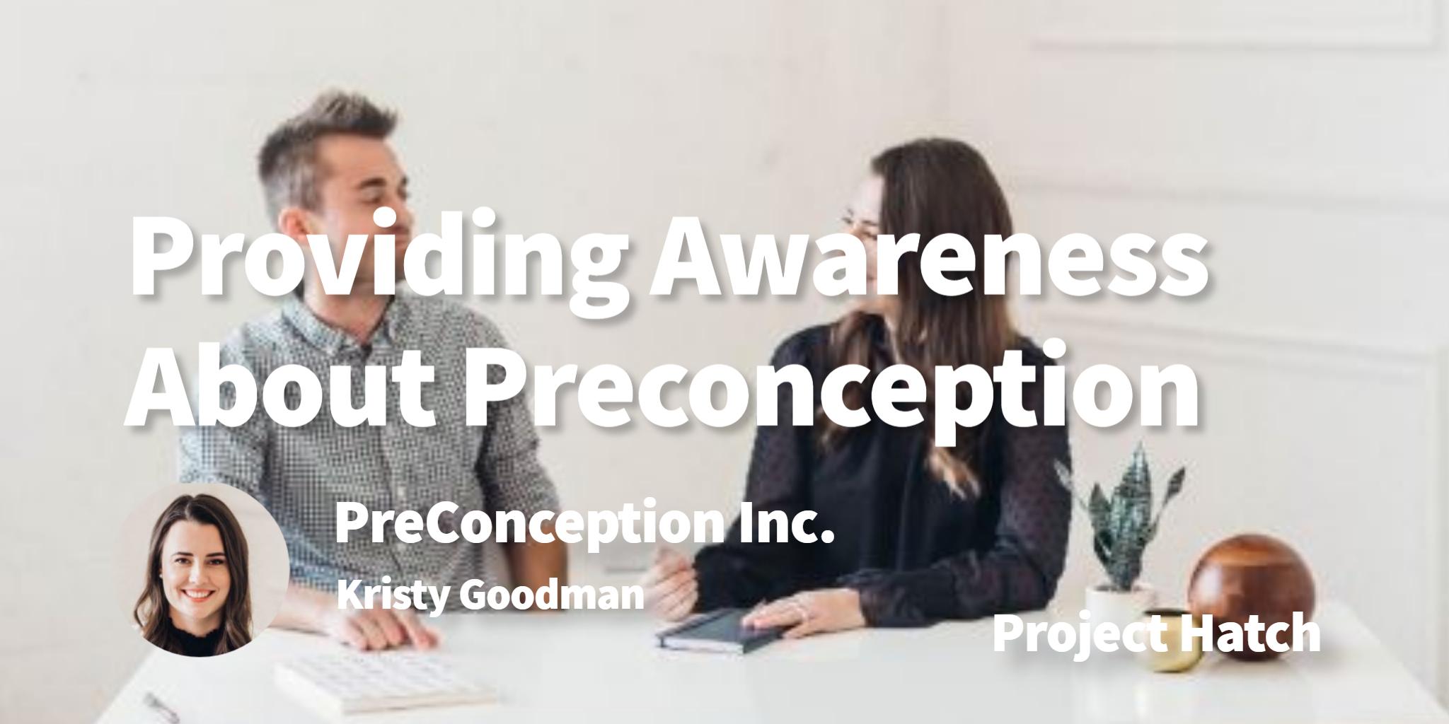 PreConception Inc. Kristy Goodman