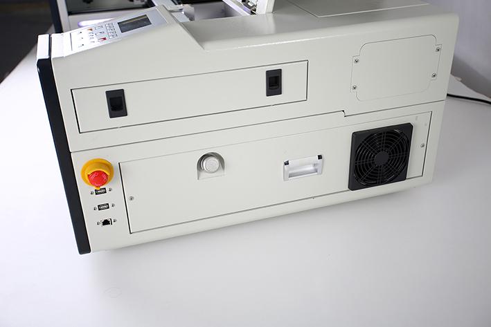 right panel closed, on the Aeon Mira CO2 Desktop Laser Cutting Machine