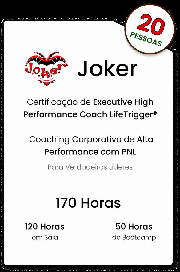 Certificação Joker