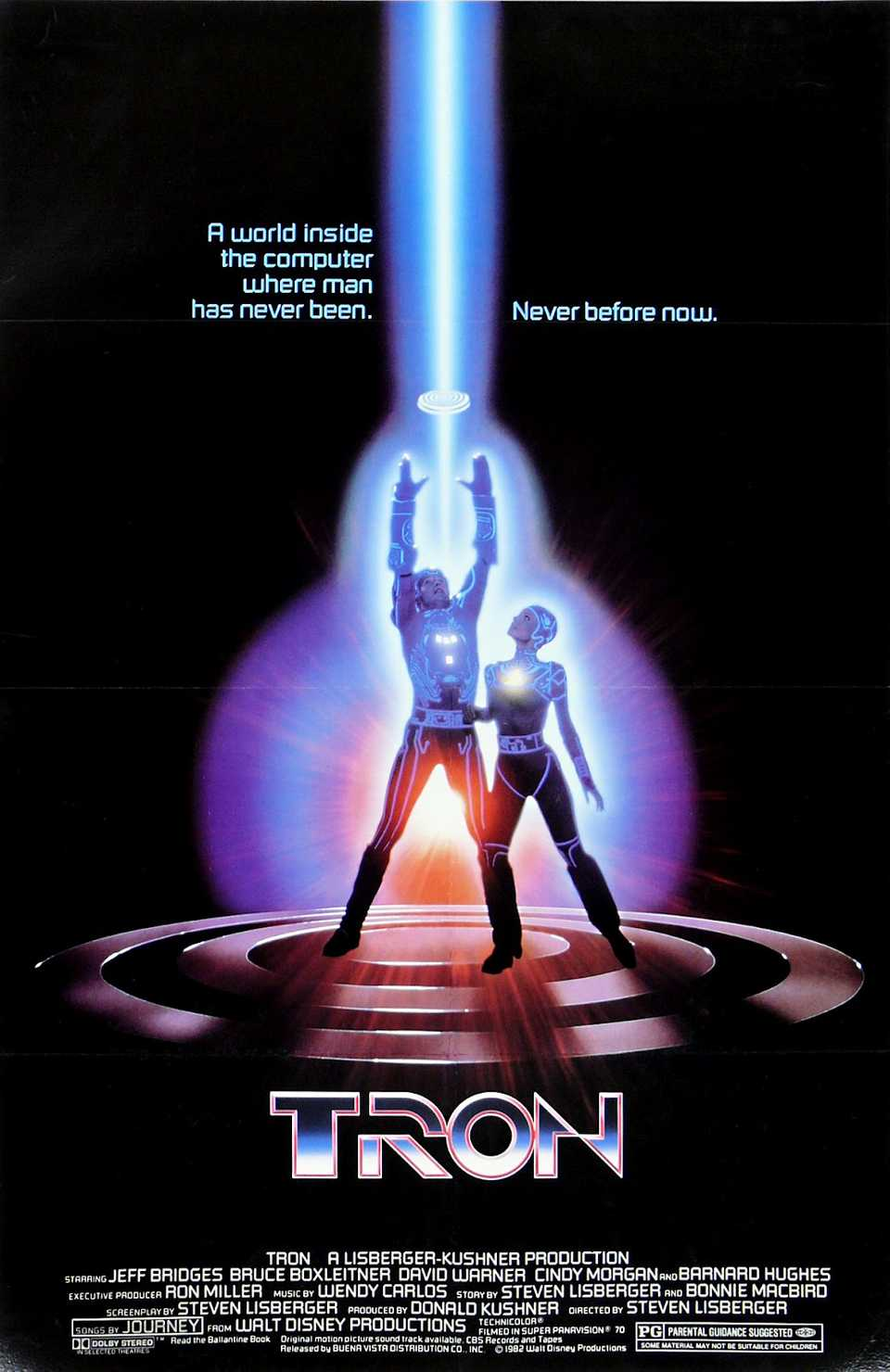 Tron 1982 Poster
