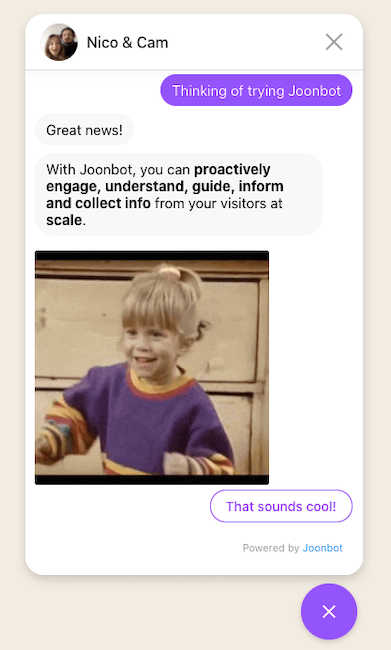 Make your own free chatbot for website with our chatbot builder