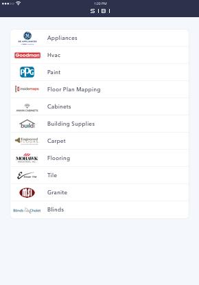SIBI iPad Screenshot