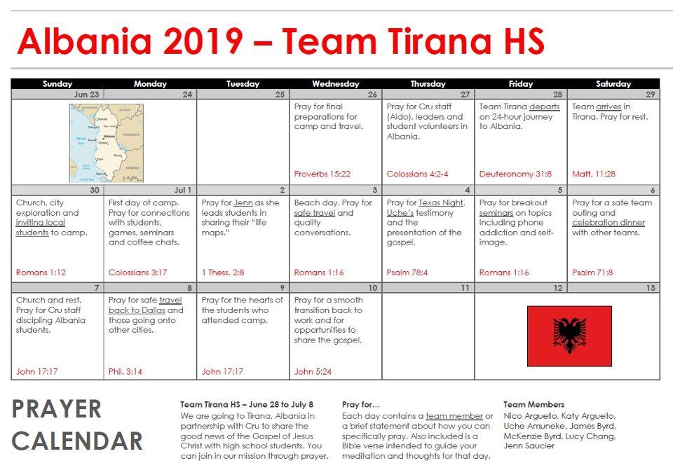 Team Tirana (High School)