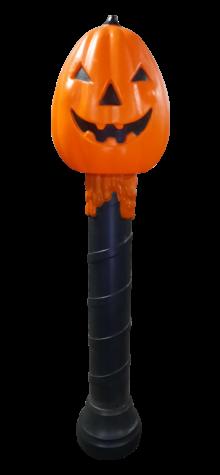 Pumpkin on a Candle photo
