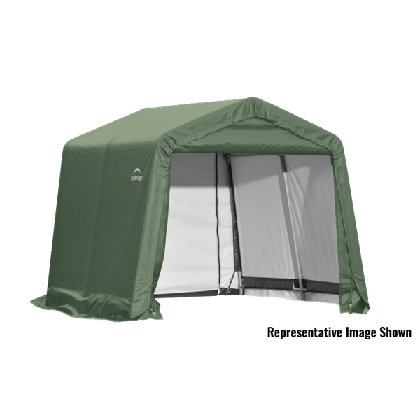 11x8x10 Round Shelter Green Colour