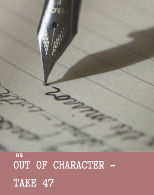 52 short stories in 52 weeks out of character