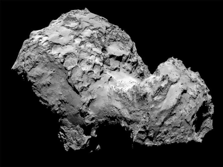 Comet 67P on 3. August 2014