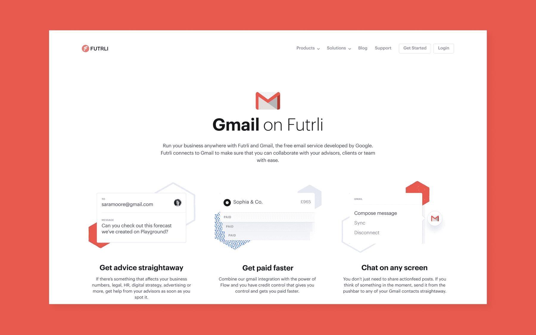 Gmail on Futrli