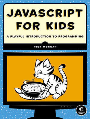 JavaScript for Kids' book cover.