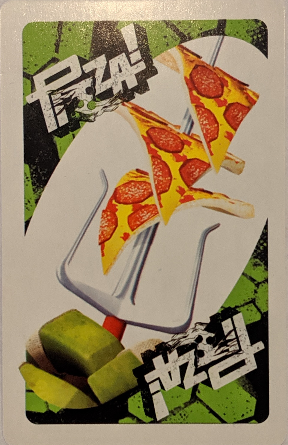 Teenage Mutant Ninja Turtles Uno (Pizza Card)