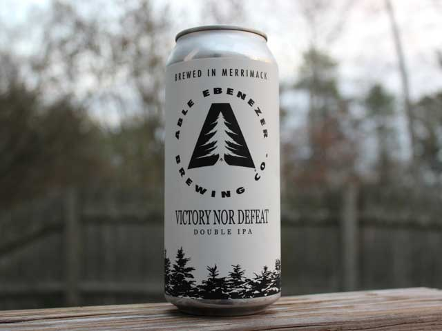 Victory Nor Defeat, a Double IPA brewed by Able Ebenezer Brewing Company