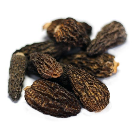 Dried Smoked Morel Mushrooms
