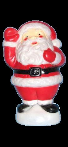 Promotional Santa photo