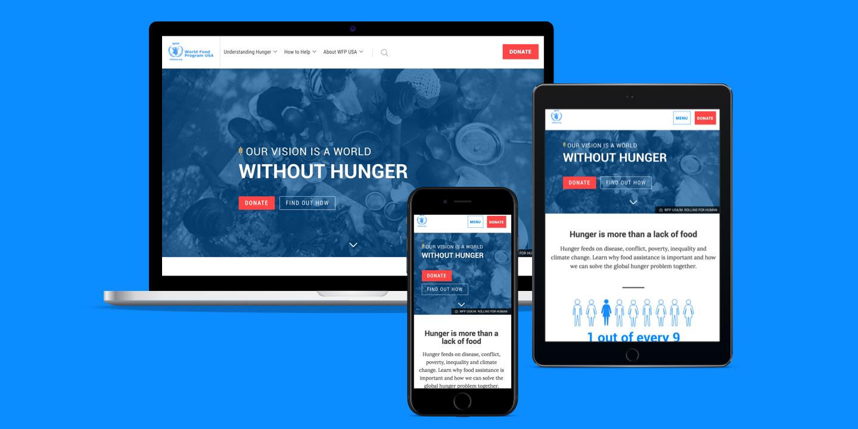 World Food Program device mockup
