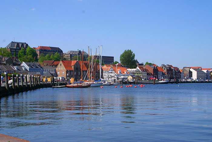 Omgivelser i Flensborg