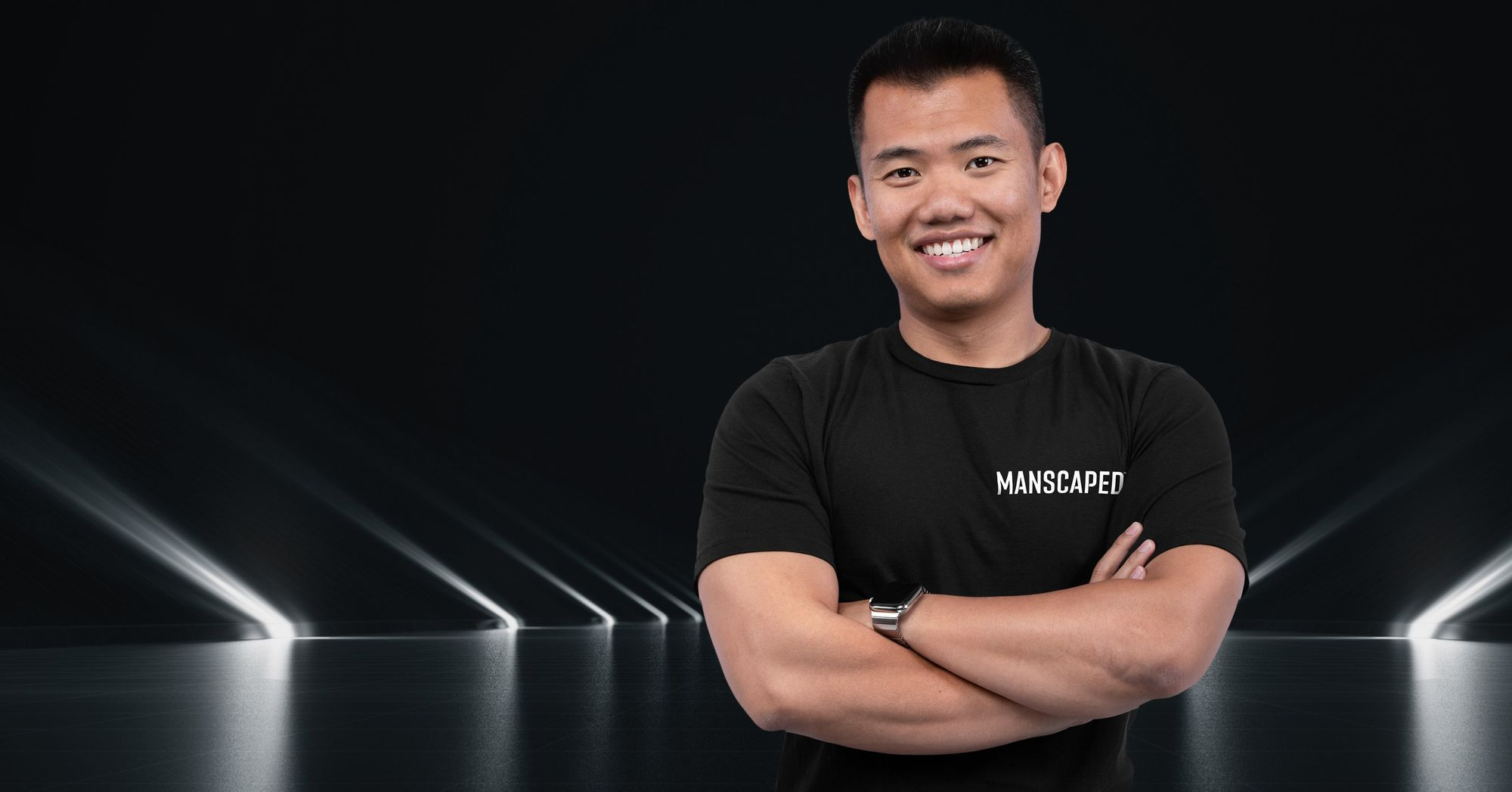 Founder and CEO of Manscaped Paul Tran