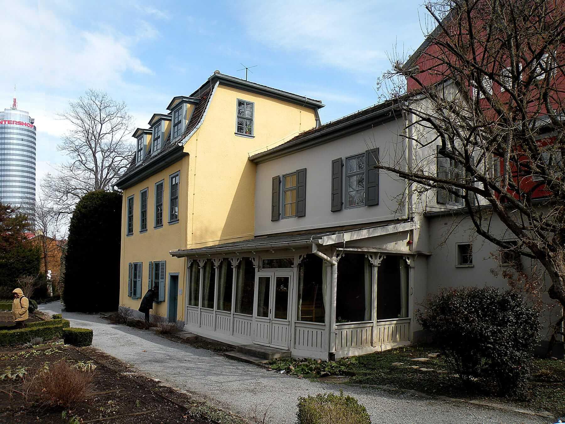 Дом Шиллера в Йене, где он преподавал в университете. Источник: wikipedia.org