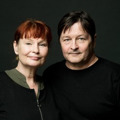 Erik Valeur og Lise Ringhof_Foto @ Robin Skjoldborg