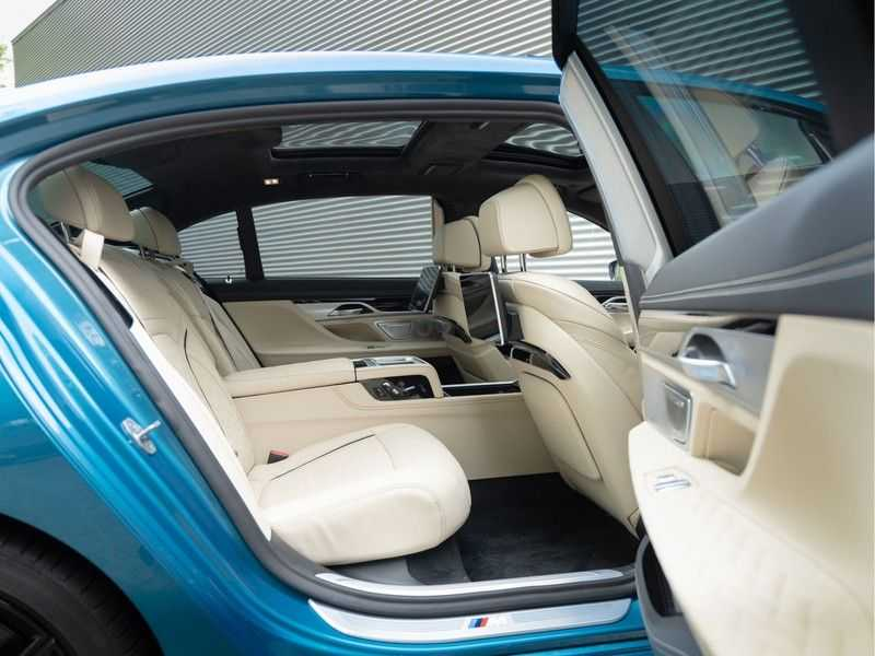 BMW 7 Serie 745Le xDrive Individual ''Maldives Blue'' - Full Option afbeelding 17