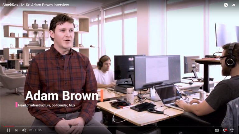 Image - MUX: Adam Brown Interview