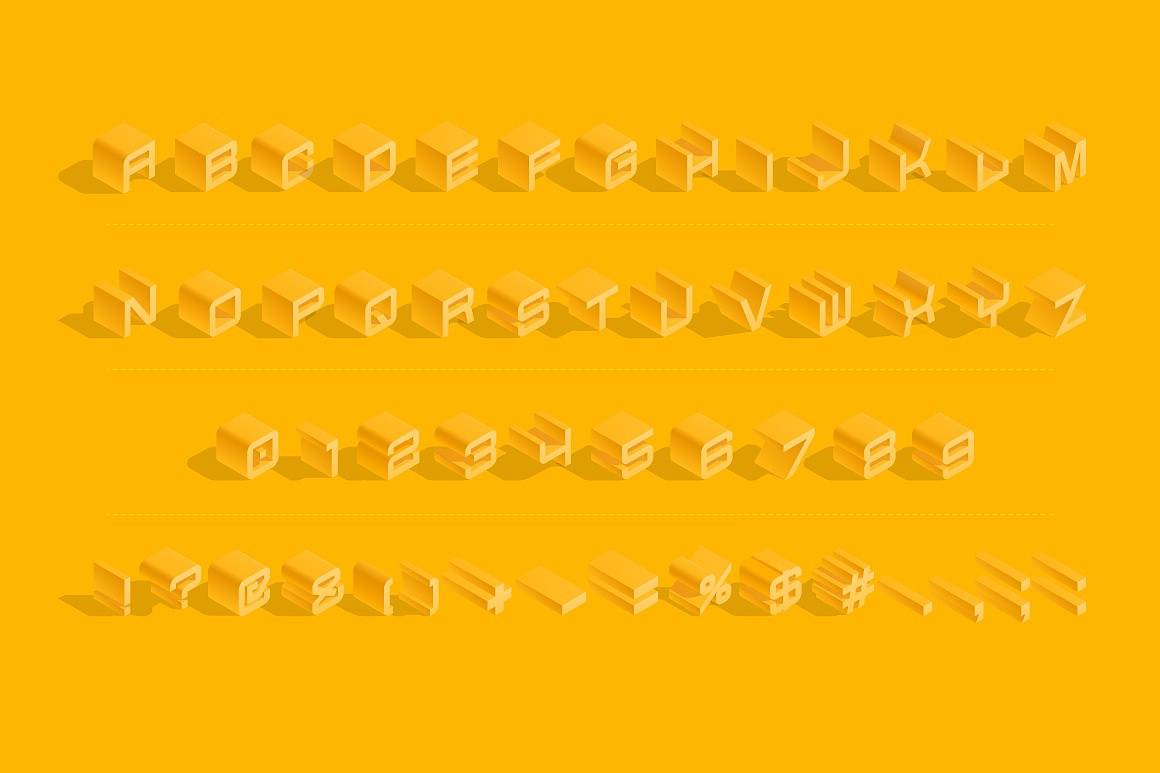 3D Isometric Typefaces images/3D-isometric-vector-typefaces-font-yellow_4.jpg