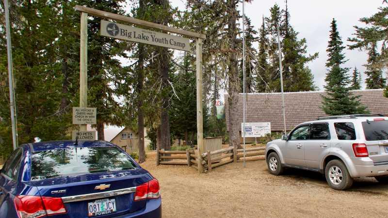 Entrance of Big Lake Youth Camp