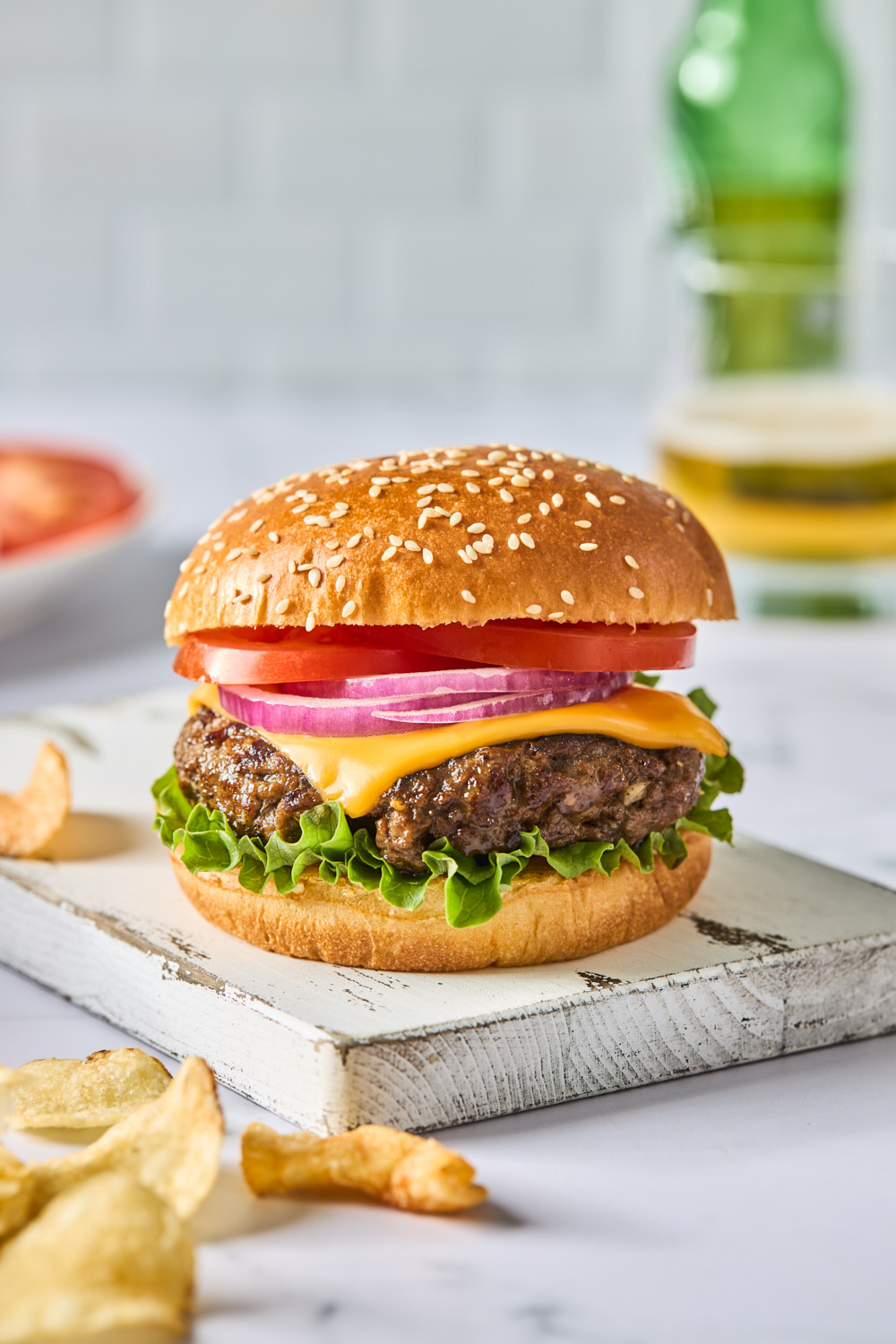 Classic Grilled Cheeseburger