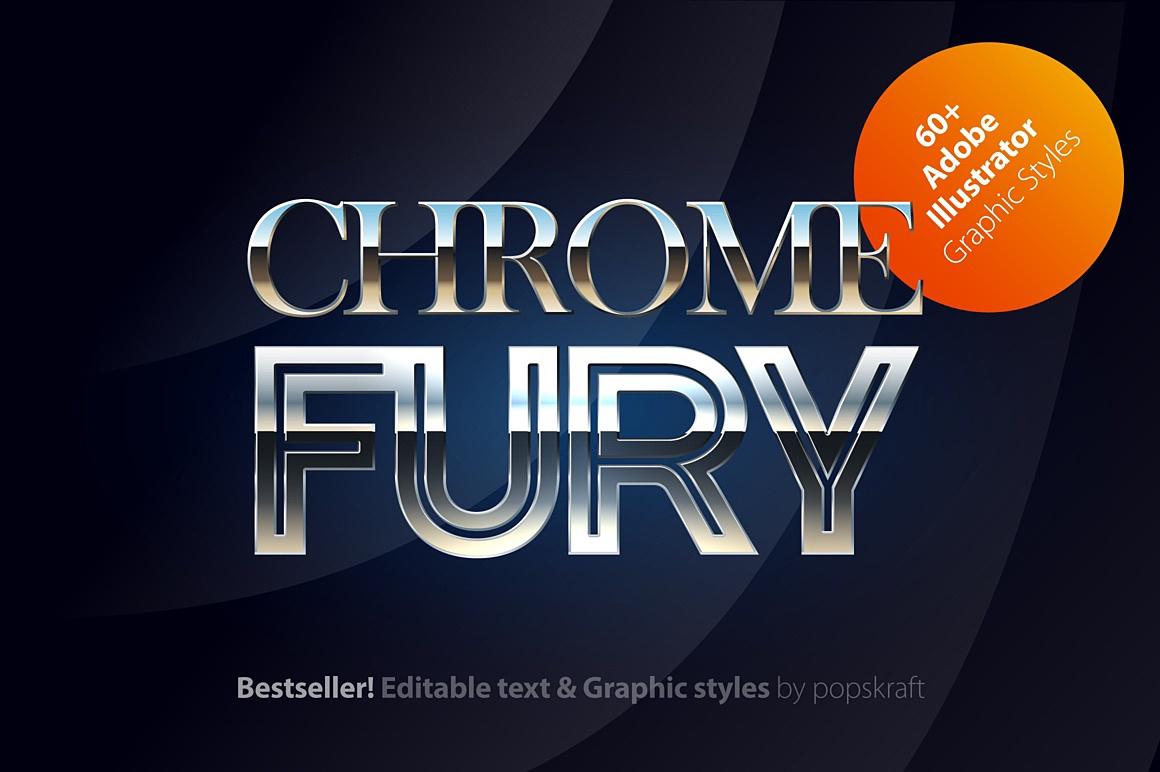 Chromesilver Illustrator styles images/chromesilver_1_ai_styles_cover.jpg