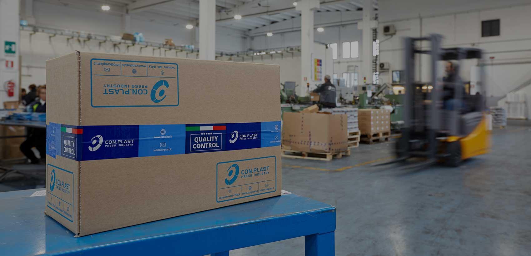 Con.Plast - stabilimento di produzione
