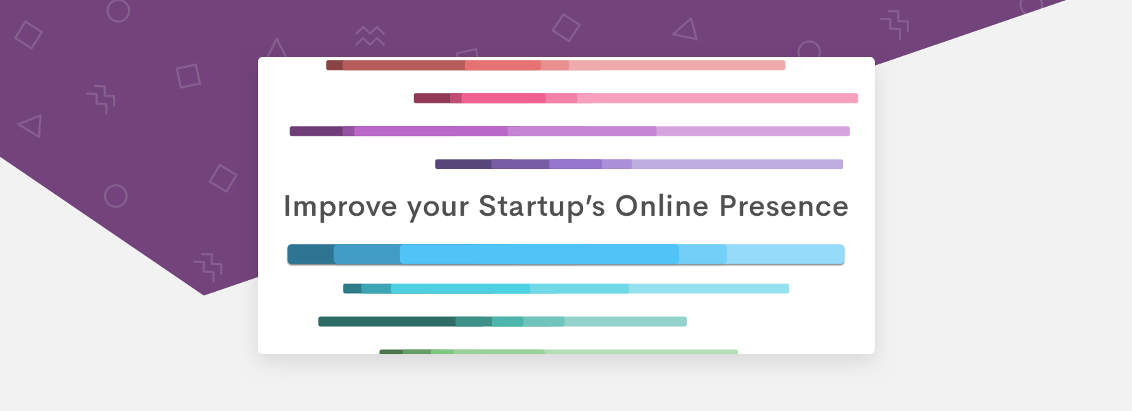 Give your startup the online presence it deserves