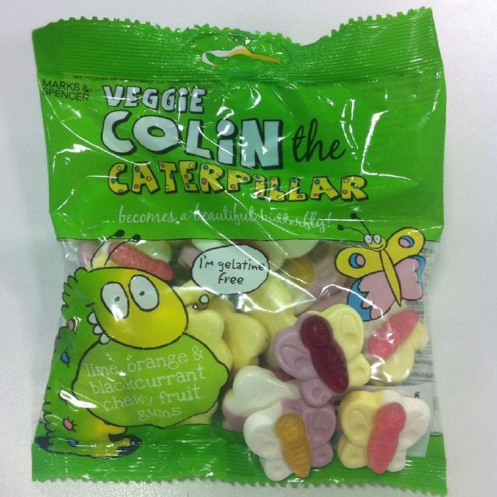 Veggie Colin the Caterpillar