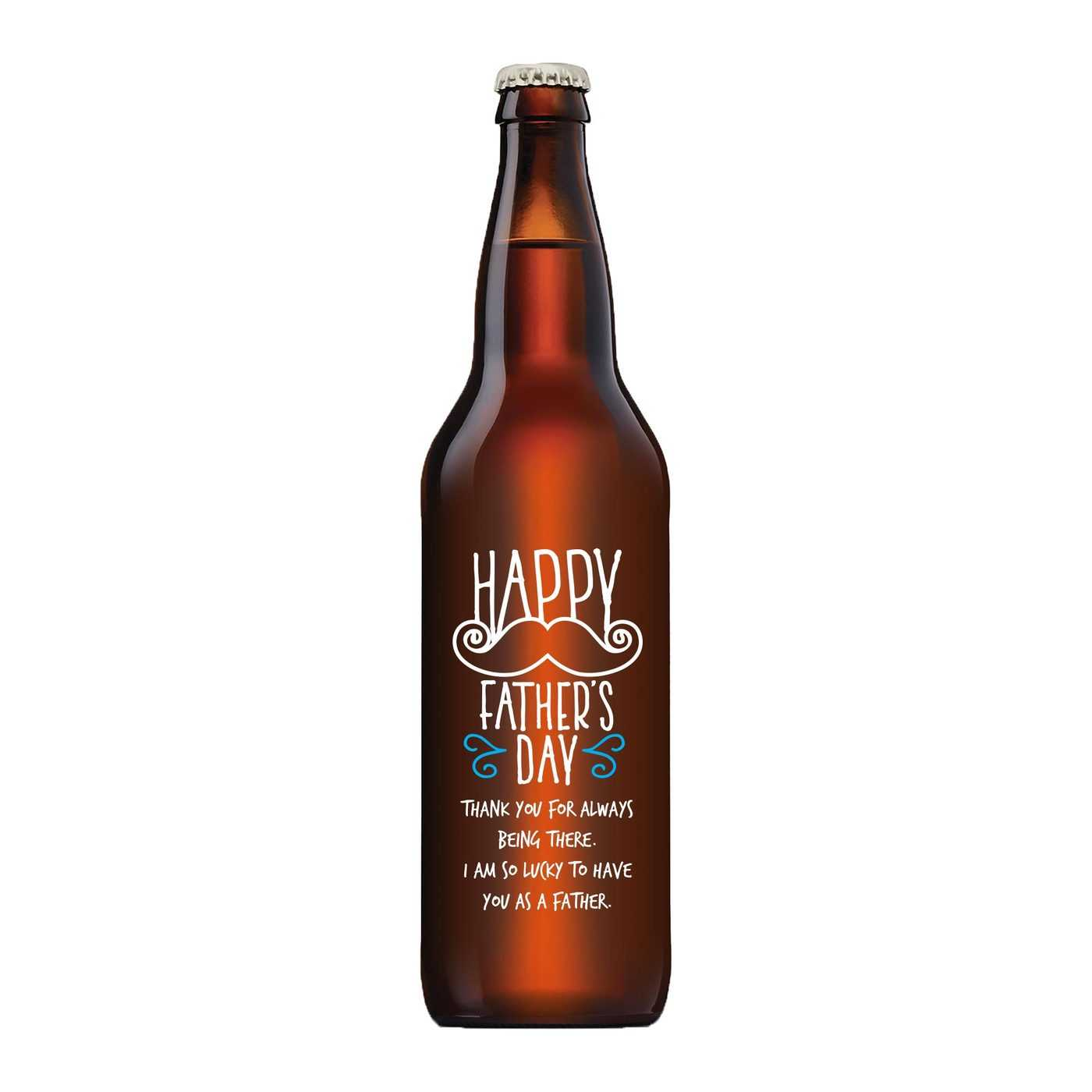 Personalized Beer Bottle for Father's Day Gift by Etching Expressions