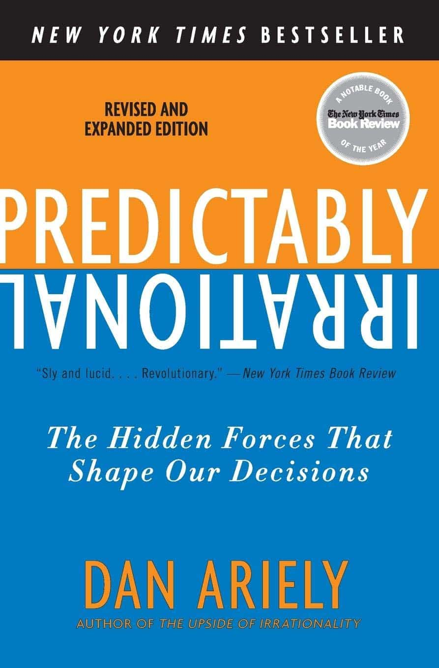 The cover of Predictably Irrational