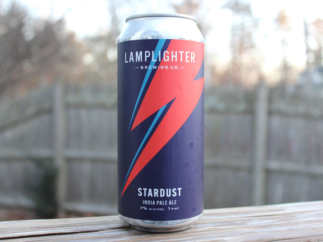 Stardust, a IPA brewed by Lamplighter Brewing Company