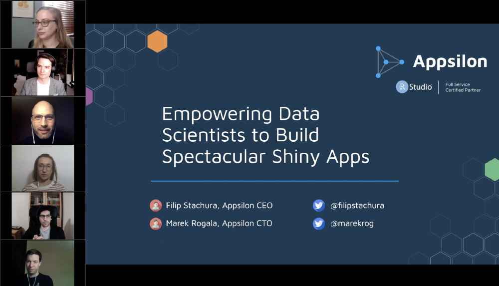 Empowering Data Scientists to Build Spectacular Shiny Apps
