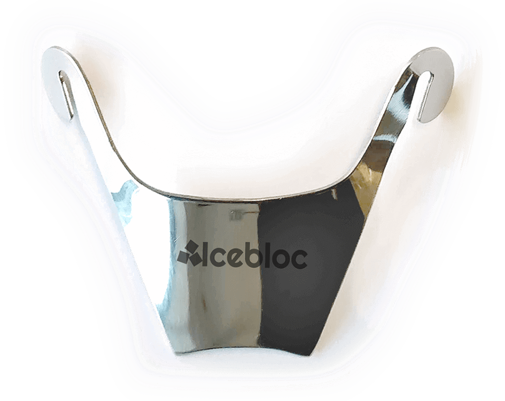 IceBloc made of steel