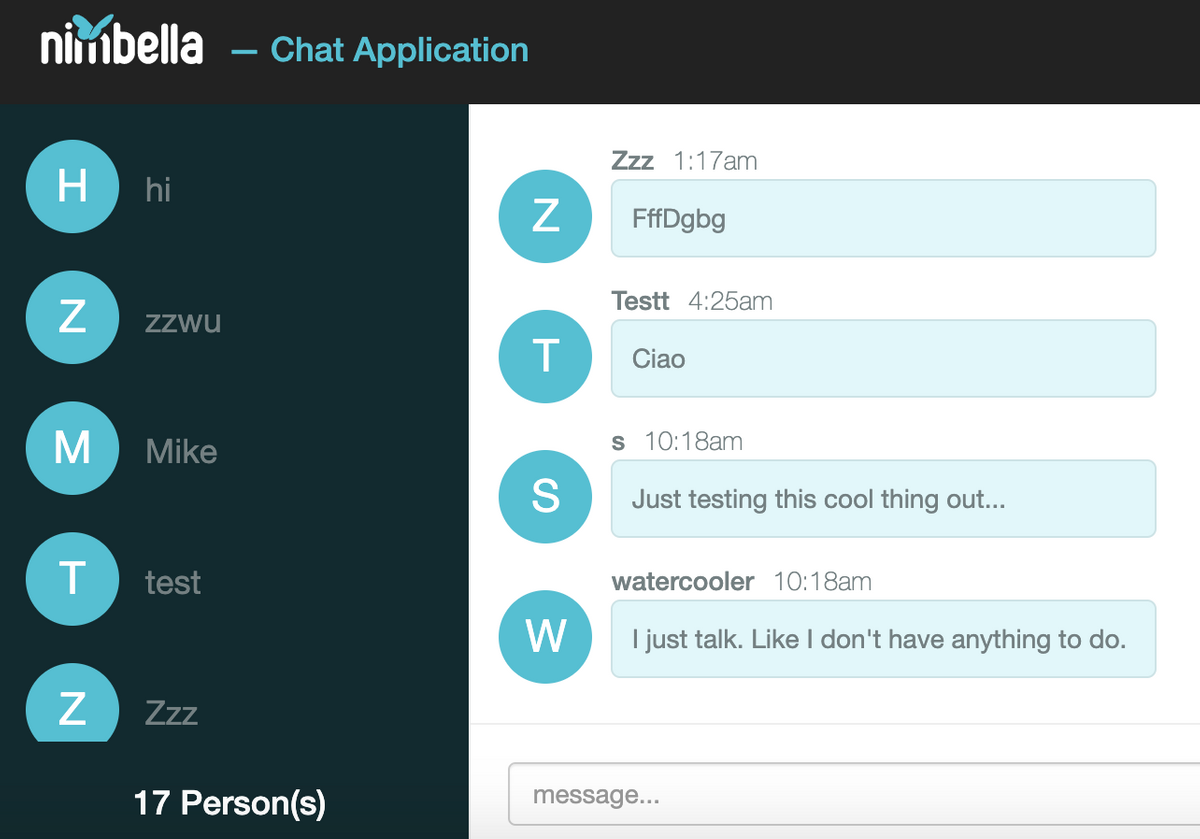 Full Chatroom!