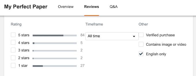 myperfectpaper.netoverall score on sitejabber