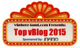 vSphere Land Top vBlog 2015 Vote