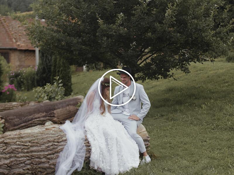 Vendula a Dominik svatební video