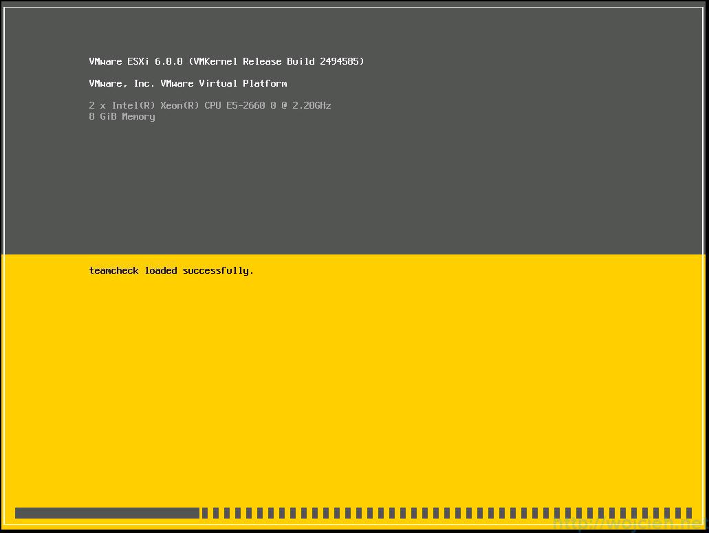 Nested ESXi 6.0 installation - 2