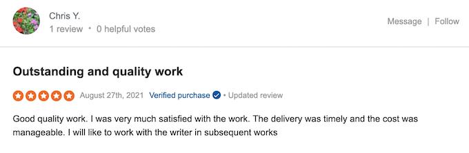 studybay.com reviews on sitejabber