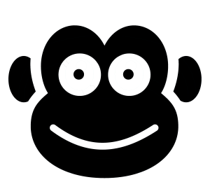 Chattering Monkey logo; data scraping, retrieval and analysis
