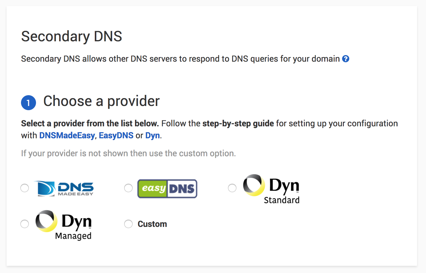 DNSimple configuration with DNSMadeEasy