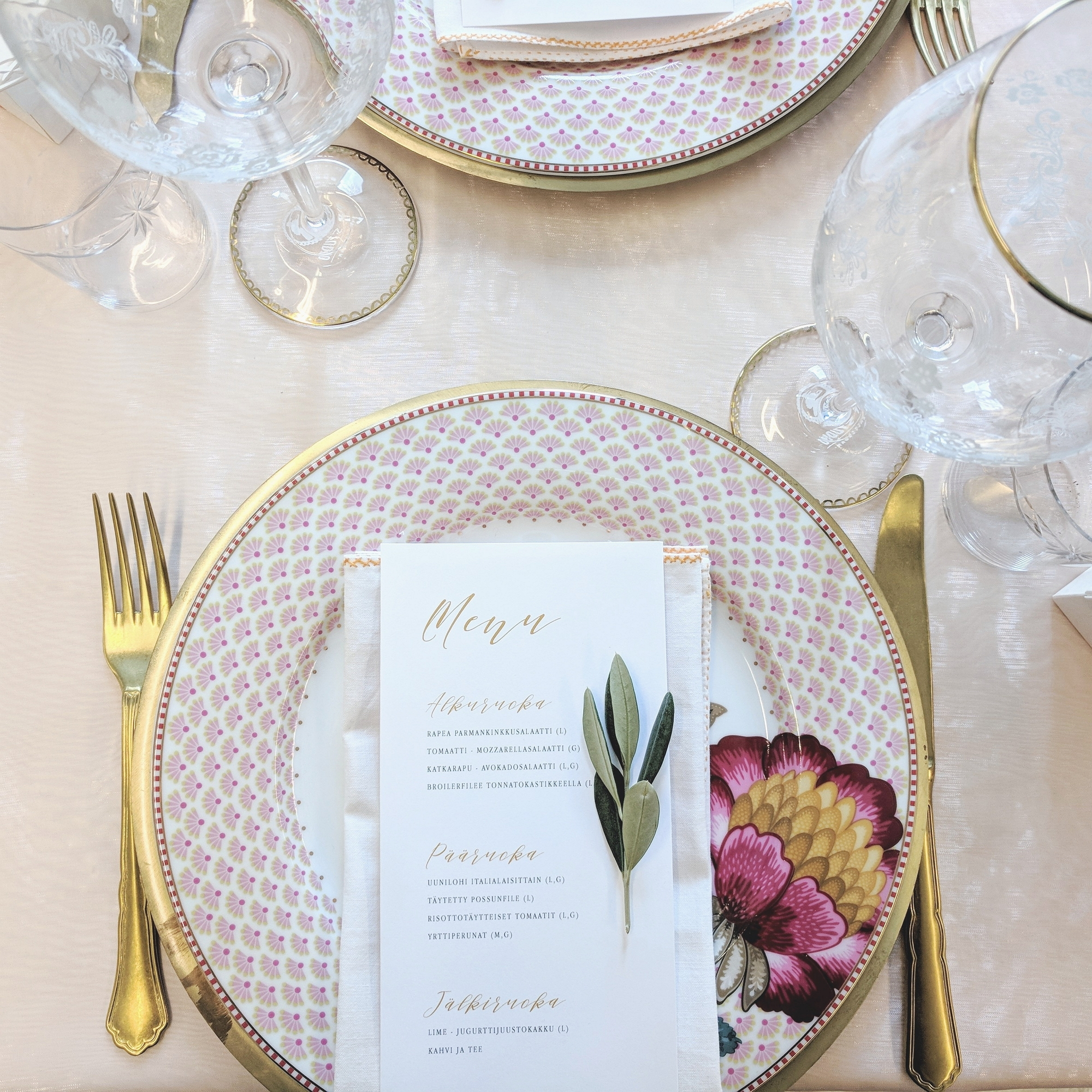 minimalist menu, pre-designed collection item